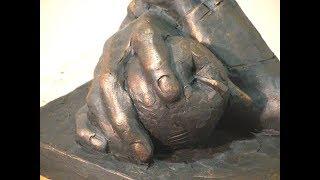Уроки скульптуры и рисунка: лепка рук, часть 2