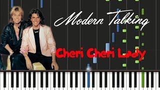 Modern Talking - Cheri Cheri Lady [Synthesia Tutorial]