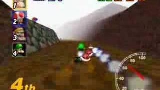 Mario Kart 64 - Choco Mountain [07/16]