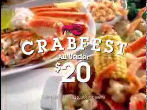 Darden Restaurants, Inc. - Red Lobster - CRABFEST - Crazy About Crab - Commercial - 2012 - YouTube