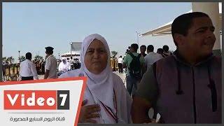 """بالفيديو.. دعاء خاص من الحجاج لـ""""مصر"""" قبل السفر لأداء مناسك الحج"""