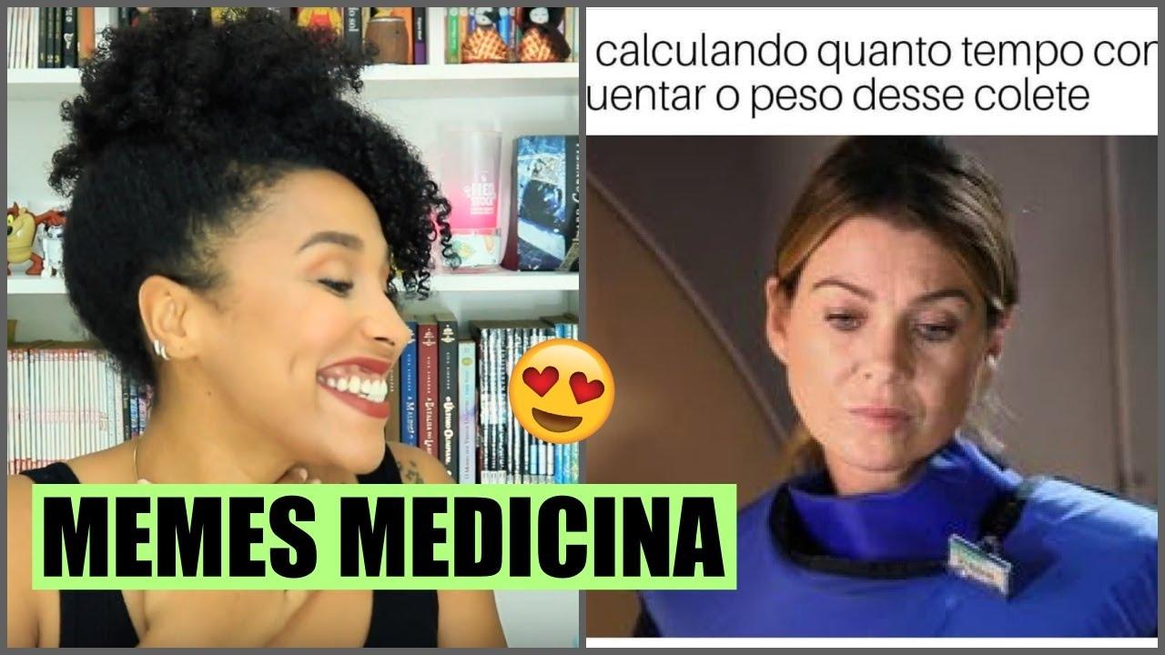 MÉDICA REAGINDO A MEMES DE MEDICINA #2 - YouTube