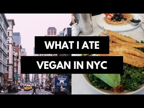 WHAT I ATE THIS WEEKEND IN NEW YORK CITY | Vegan + delicious