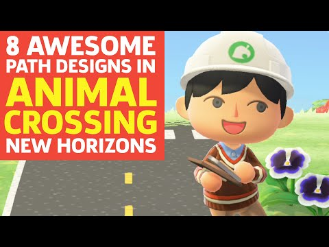 8 Awesome Path Designs In Animal Crossing New Horizons Youtube