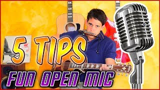 Open Mic Nights - 5 Tips on How to ROCK 'Em