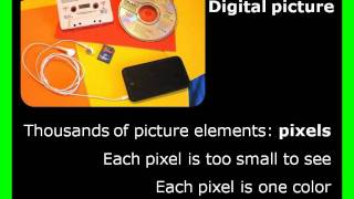 Digital images and pixels