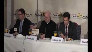 Fórum Europa Tribuna Galicia con Julian Barrio
