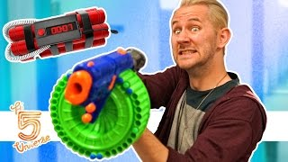 Nerf Battle: Search And Destroy!