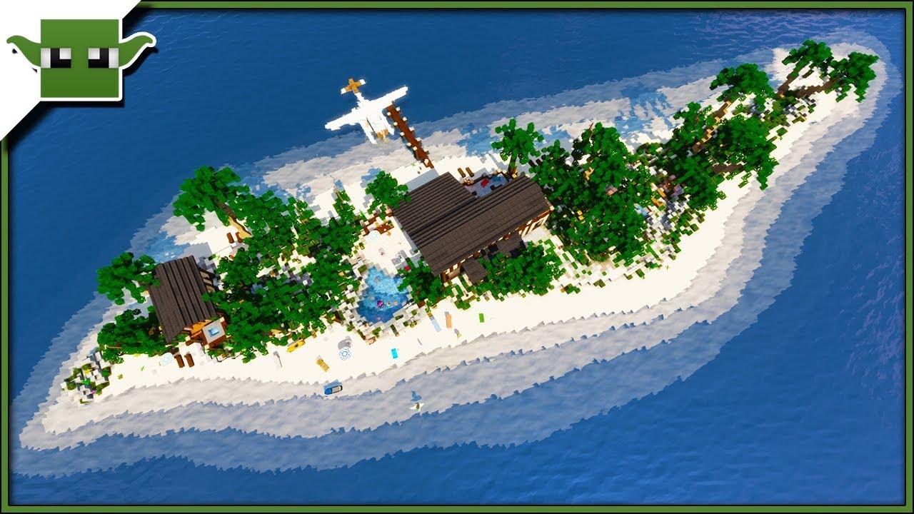 Minecraft Tropical Island: Inspiration Series Showcase /w