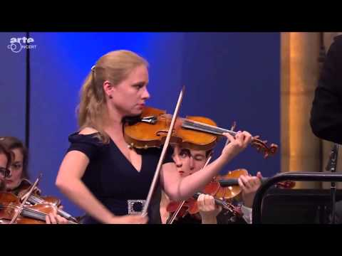 Julia Fischer performs Mendelssohn at the Saint-Denis Festiv