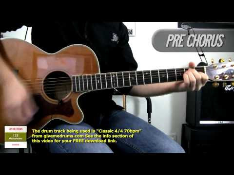 Cats In the Cradle  Harry Chapin  Ugly Kid Joe  Acoustic Guitar   How To Play
