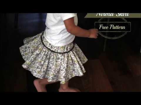Nirma Skirt Free Pattern