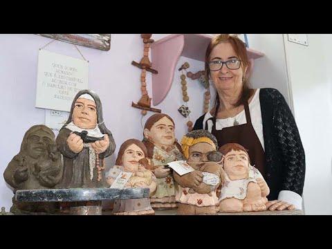 As esculturas gordinhas e baixinhas de Gracinha Sabadini - BRAVAS MULHERES