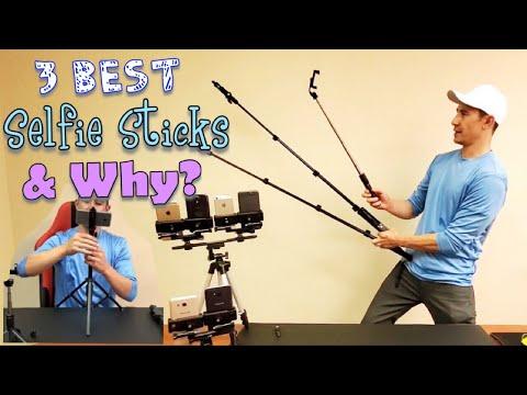 2019 Best 3 Selfie Sticks & Why (Phones, Cameras, Tripod, DSLRs, Go Pros, Action Cams, Etc)