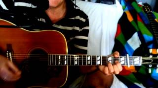 Out Of Time ~ Chris Farlowe - The Rolling Stones ~ Acoustic Cover w/ Gibson Hummingbird 1964