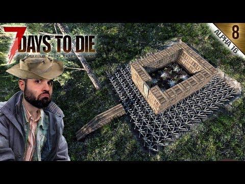 7 DAYS TO DIE A16 #8 | UN HUERTO DE POBRES | Gameplay Español