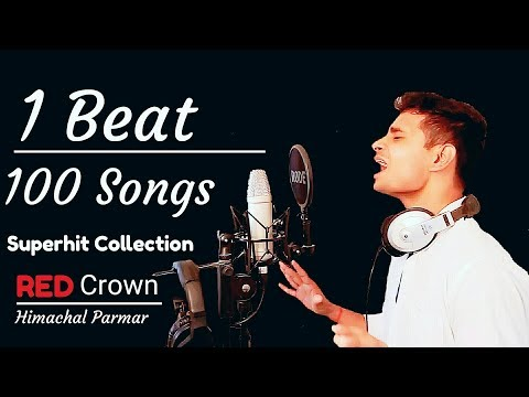 100 songs on 1 Beat  Himachal Parmar ▶️ Red Crown Music, Superhit Songs Collection 📁