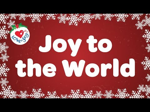 Joy to the World with Lyrics  Christmas Carol & Song  Children Love to Sing