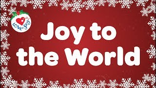 Joy to the World with Lyrics Christmas Carol & Song Kids Love to Sing(Popular Christmas carol Joy to the World beautifully sung by top talented children's choir - great for performances, schools, choirs and church.  Subscribe: ..., 2013-10-21T01:15:09.000Z)