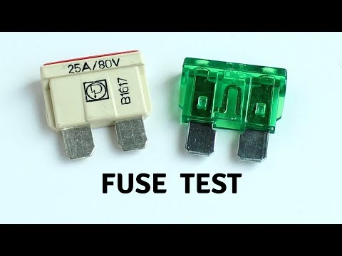 Fuse Test, Part 2, DIY Powerwall, Chevy Volt Batteries