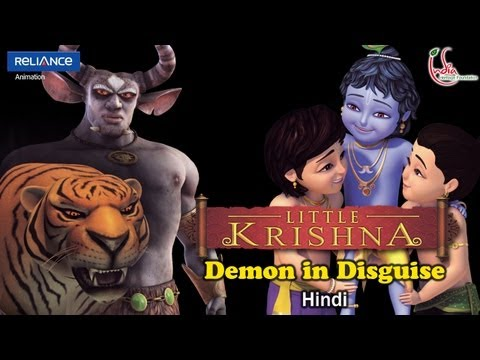 Little Krishna Hindi - Episode 6 Vatsasura and the story of Bakula