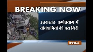 Uttarakhand: Pilgrims bus over-turns in Karnprayag, 35 injured