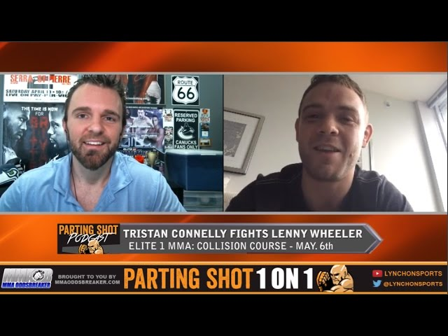"Elite MMA's Tristan Connelly ""I'm going to weather the early storm and wear on Lenny Wheeler"""