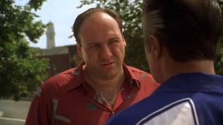 Tony met with Paulie - The Sopranos HD