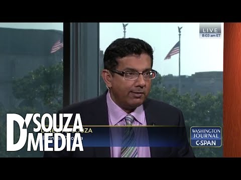 D'Souza completely shuts down C-SPAN callers in clash over Nazi roots of Democratic Party