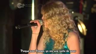 Taylor Swift - Love Story Subtitulado En Español