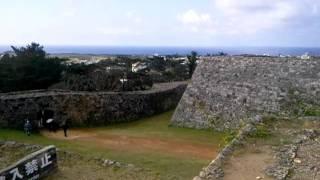 座喜味城跡 2 沖縄県 zakimi castle ruins from okinawa