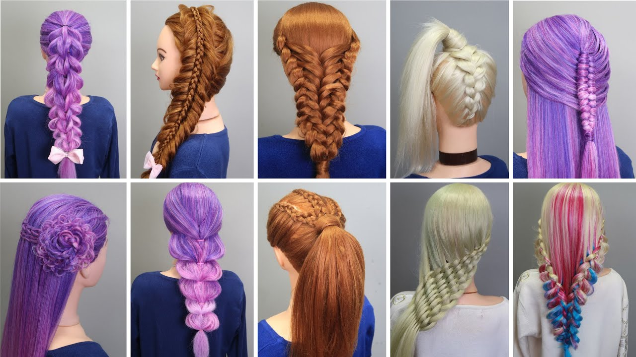 23 EASY HAIRSTYLES Step by Step for Fiesta 2021 | Easy Hairstyles