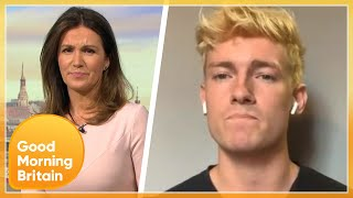 British Lads Stuck in 'Eternal Hell' After Catching Covid-19 In Italy | Good Morning Britain