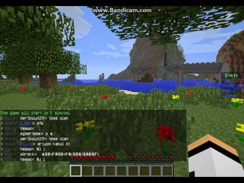 Eğlenceli Oyun - Minecraft Hunger Games Tanıtma Bölüm 1 - Laaanet Olsunnnn