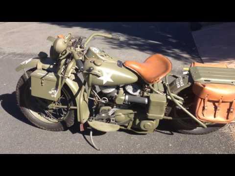 1942 Harley Davidson WLA 19775 For Sale