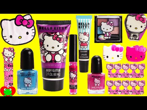 Hello Kitty MEGA Cosmetics Set and Surprises