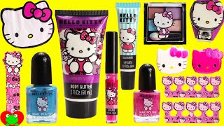 Download Video Hello Kitty MEGA Cosmetics Set and Surprises MP3 3GP MP4