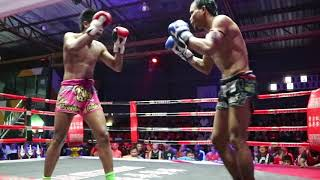 Teaw PhuketTopTeam vs Mahaesuan Kaewphitak Muay Thai fight 28 March 2018