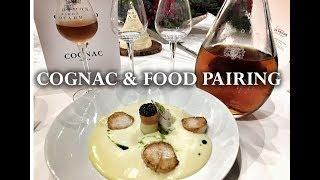 Cognac & Food Pairing, yes it works! - @ Baron Otard's Chateau Royal de Cognac