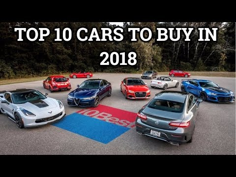 Top 10 Best Cars To Buy In USA In 2018