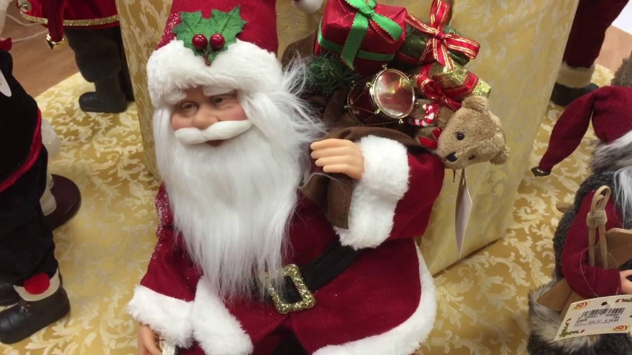 Babbo Natale Musicale.Babbo Natale In Movimento Con Musica 43816 Youtube