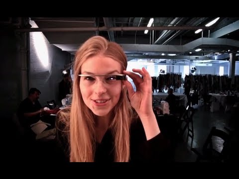 DVF [through Google Glass]