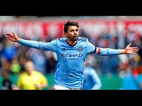 David Villa 2017  - Goals & Skills - The Happiness of the Goal