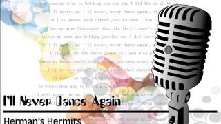 I'll Never Dance Again