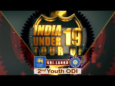 Sri Lanka U19 vs India U19, 2nd Youth ODI at SSC