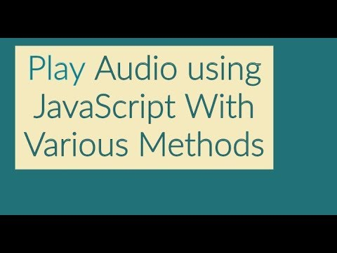 Play Audio After Few Seconds or Time Delay in JavaScript