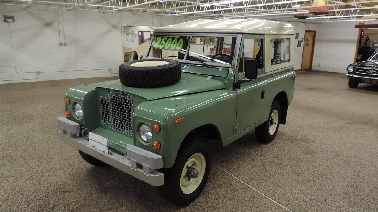Land Rover LR88 Series IIa Start up and overview