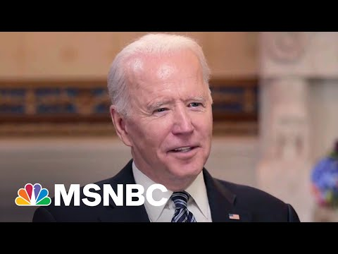 Watch President Biden's Full Conversation With Lawrence O'Donnell