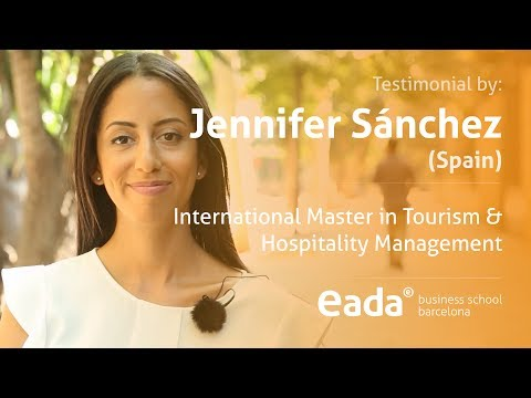 Jennifer's experience - International Master in Tourism & Hospitality Management 2017