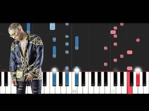 Bad Bunny - Dime Si Te Acuerdas (Piano Tutorial)